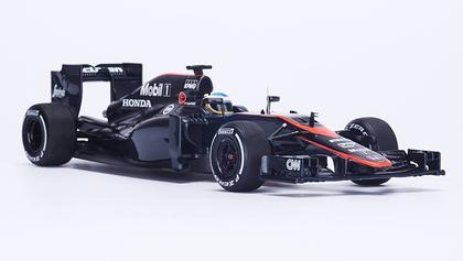 McLaren Honda MP4-30 #14 Spain GP 2015 Fernando Alonso