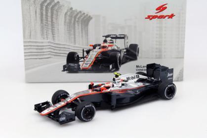 McLaren Honda MP4-30 #22 Jenson Button GP China 2015