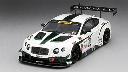 Bentley GT3 2014 #08 Sonoma Grand Prix 3rd Place 1/43