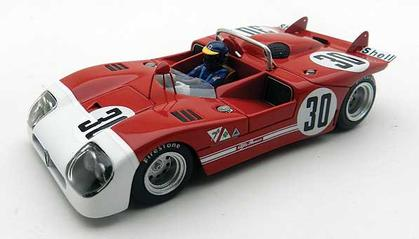 Alfa Romeo Tipo 33/3 1971 #30 Watkins Glen Winner Peterson 1/43