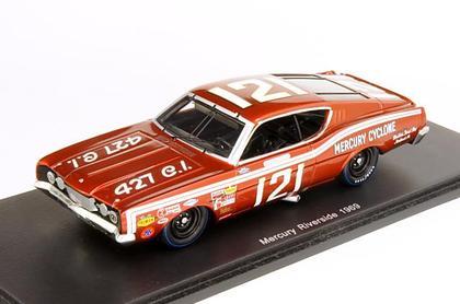 Ford Mercury Riverside 1969 1/43