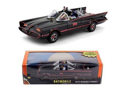 Batmobile 1966 TV Series Batman (With figures)