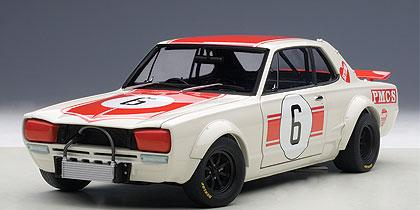 NISSAN SKYLINE GT-R (KPGC-10) RACING 1971 KUNIMITSU TAKAHASHI #6 JAPAN GP WINNER