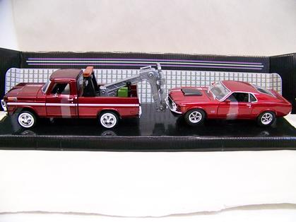 Ford F-100 Towing with Ford Mustang Boss 429