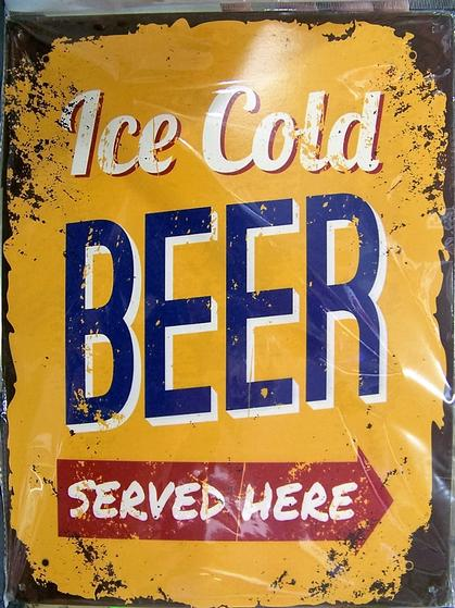Ice Cold Beer Served Here