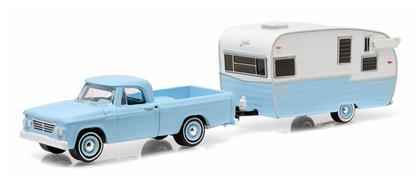 Dodge D-100 1963 with Shasta 15' Airflyte