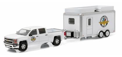 Chevrolet Silverado 1500 2015 with Indy 500 Motor Speedway Gift Shop Trailer