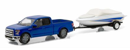 Ford F-150 2015 with Boat and Trailer
