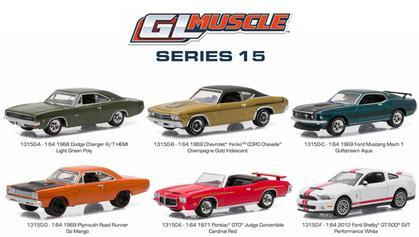 GL Muscle Series 15 1:64 Set