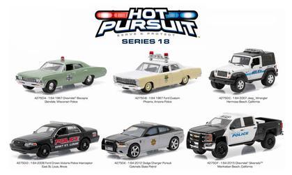 Hot Pursuit Series 18 1:64 Set