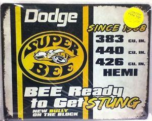 Dodge Super Bee - Bee Ready to Get STUNG