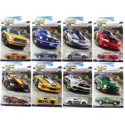 Set of 8 cars Ford Performance 2016 Collection