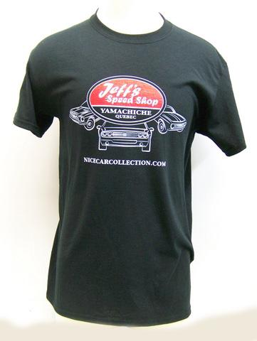 T-Shirt Nice Car Collection 2016 - Jeff's Speed Shop - Medium