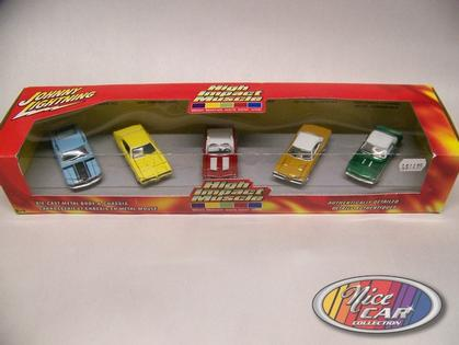 Ensemble 5 voitures High Impact Series