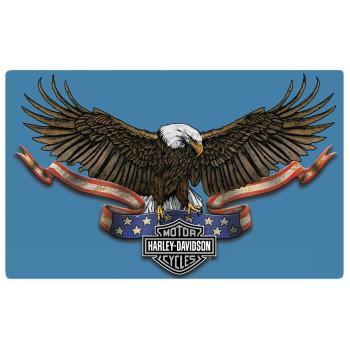Eagle Banner Embossed