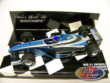 Jacques Villeneuve - BAR 01 Supertec - Testcar 1999