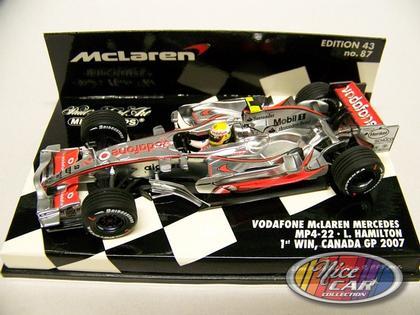 #2 L. Hamilton - Vodafone Mclaren Mercedes MP4-22 2007