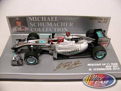 #3 Michael Schumacher 2010 - Mercedes Petronas