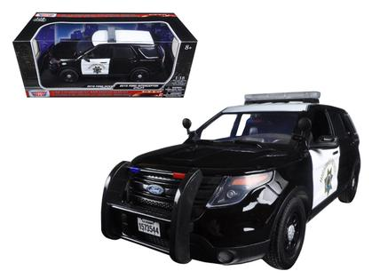 Ford Utility (Explorer) Police California Highway Patrol