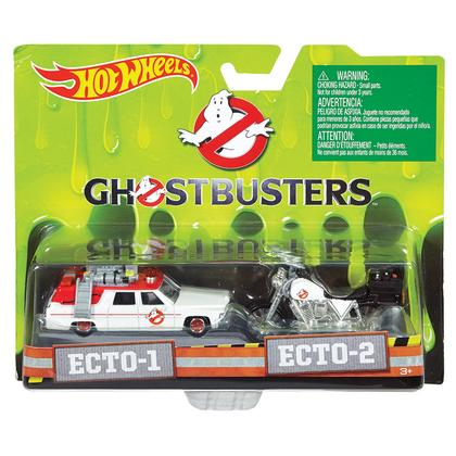 Set of 2 Ghostbuster vehicules - ECTO-1 & ECTO-2