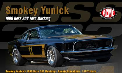 Ford Mustang Boss 302 1969 Smokey Yunick #11 *1 LEFT*