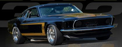 Ford Mustang Boss 302 1969 Street Version