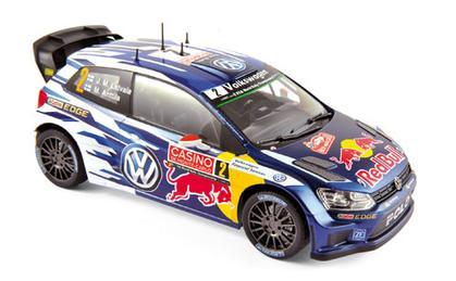 Volkswagen Polo R WRC 2015 - Monte Carlo - N°2 Latvala / Anttila