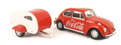Volkswagen Coke Coca Cola Tear Drop Trailer