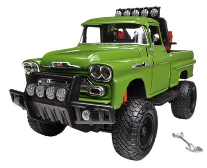 Chevrolet Apache Fleetside Pickup Truck Off Road 1958