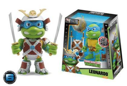 Diecast figure Leonardo with samurai armor - TMNT