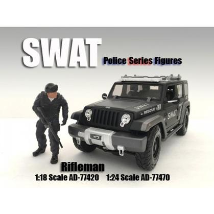 SWAT Team Figure - Rifleman