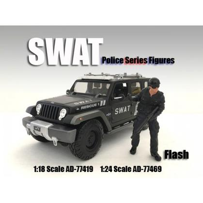 SWAT Team Figure - Flash