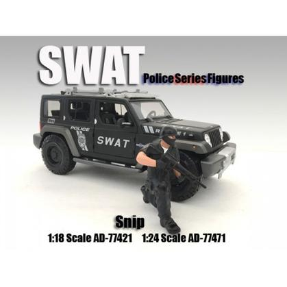 SWAT Team Figure - Snip