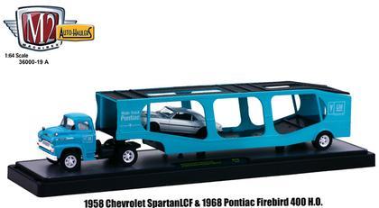 Chevrolet Spartan LCF 1958 & Pontiac Firebird 1968
