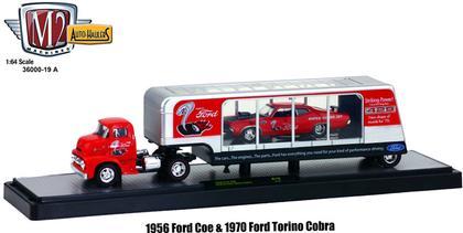 Ford COE 1956 & Ford Torino Cobra 1970