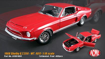 Ford Shelby GT-350 1968