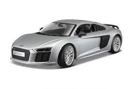 Audi R8 V10 Plus Silver
