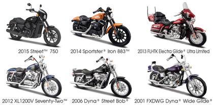 Harley-Davidson Series 34 (6 Motorcycles)