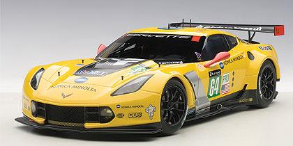 CHEVROLET CORVETTE C7R LE MANS 24HRS GTLM 2015 WINNER #64