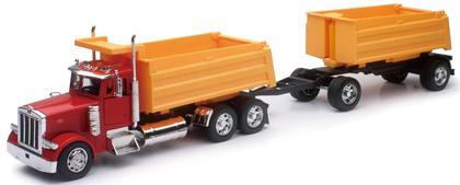 Peterbilt 379 Double Dump Truck