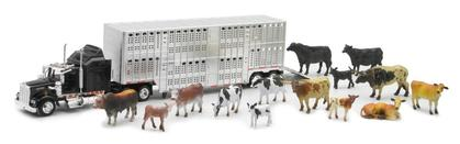 Livestock Truck W/ Farm Animal Set