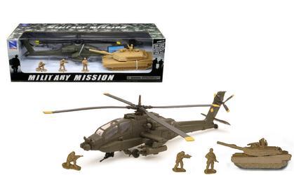 Apache AH-64 W/ Tank Set