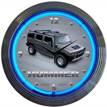 Hummer Neon Clock