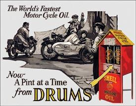Shell - Motorcycle Oil