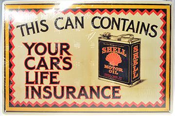 Shell - Life Insurance  12X18