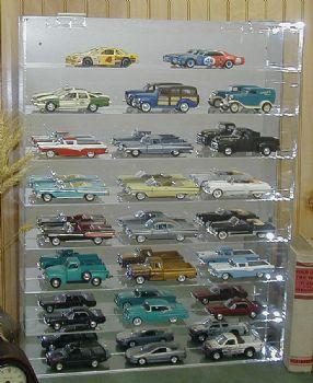 Display Case hold 24 cars 1/32