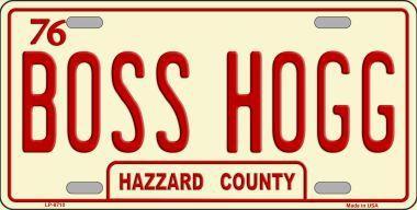 Boss Hogg Hazzard County