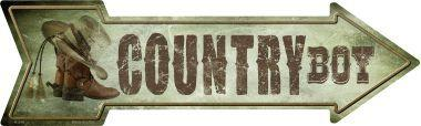 COUNTRY BOY  - 17'