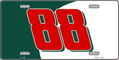 #88 GREEN RED