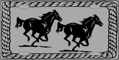 Two Running Horses